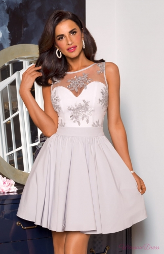 65c2f36875 Susan mini - sukienka z koronką